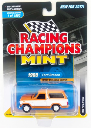 gallery/80 bronco orange & vit rc låda 1a mint 2017 hobby exclusive version a svarta linjer