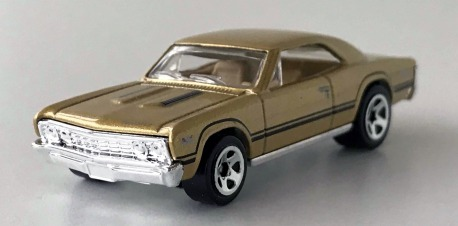 gallery/67 chevelle ss 396 guld no.44 2010 hw lös 1a