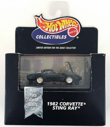 gallery/82 corvette sting ray svart hw i låda 1a 2000 cool collectibles