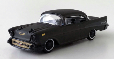 gallery/57 bel air auto drivers special edition frozen black pearl mattsvart m2 machines lös 1a