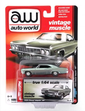 gallery/66 impala ss silver seagrass green aw i låda 1a vintage muscle premium r5 no3 version a svart inredning