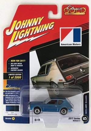 gallery/72 amc gremlin classic gold collection 2017 series r3 no.5 jetset blue poly jl låda dublett 1a