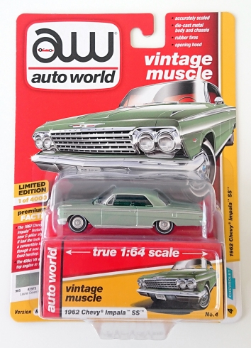 gallery/62 impala ss ht 409 seagrass green poly aw i låda 1a 2019 vintage muscle premium r1 no 4 version b met seagrass green inredning