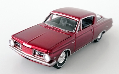 gallery/64 barracuda met röd ultra red aw bruks 1a vintage muscle premium r4 no2 version ultra red svart inredning