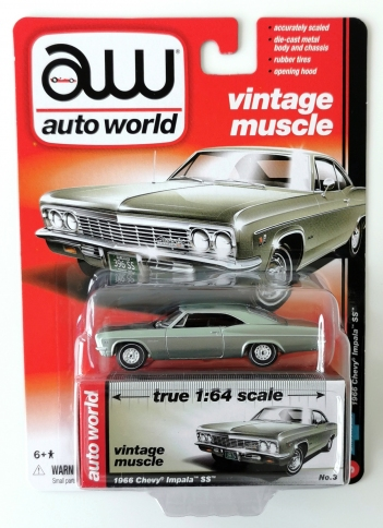 gallery/66 impala ss met silver seagrass green aw i låda 1a vintage muscle premium r5 no3 version a svart inredning