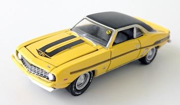 1969 /'69 CHEVY CAMARO RS COPO 427 R42 M2 MACHINES DETROIT MUSCLE DIECAST 2018